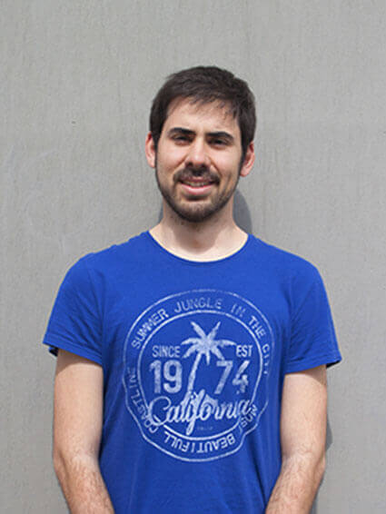 Jorge García PhD Student CSIC